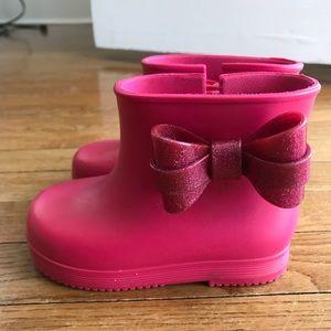Mini Melissa Rain Boots